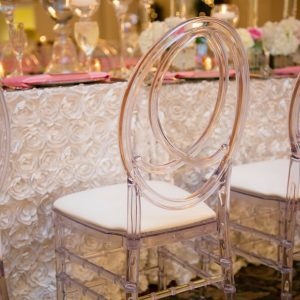 crystal dior chair