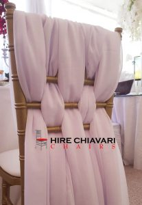 sash for chiavari chairs