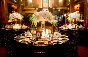 black chiavari chairs