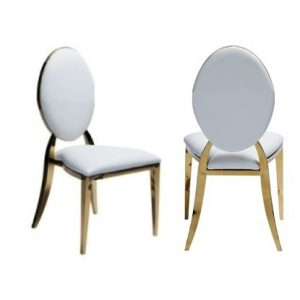 gold arabella chair